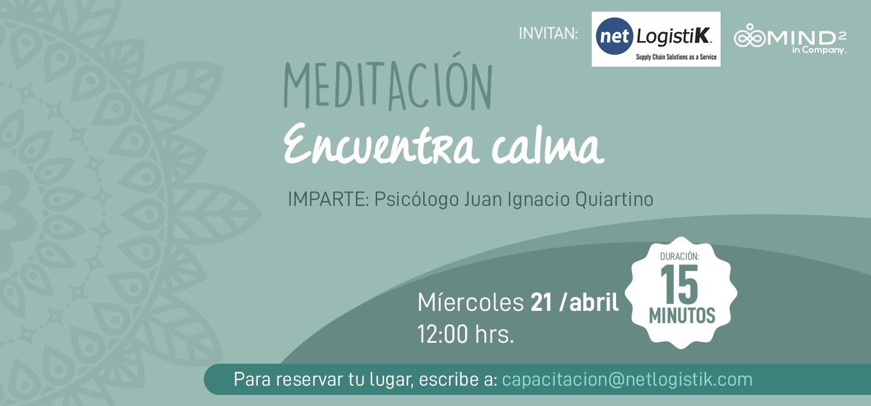 Meditación: Encuentra Calma