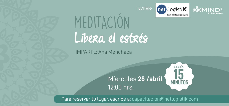 Meditación: Libera el estrés